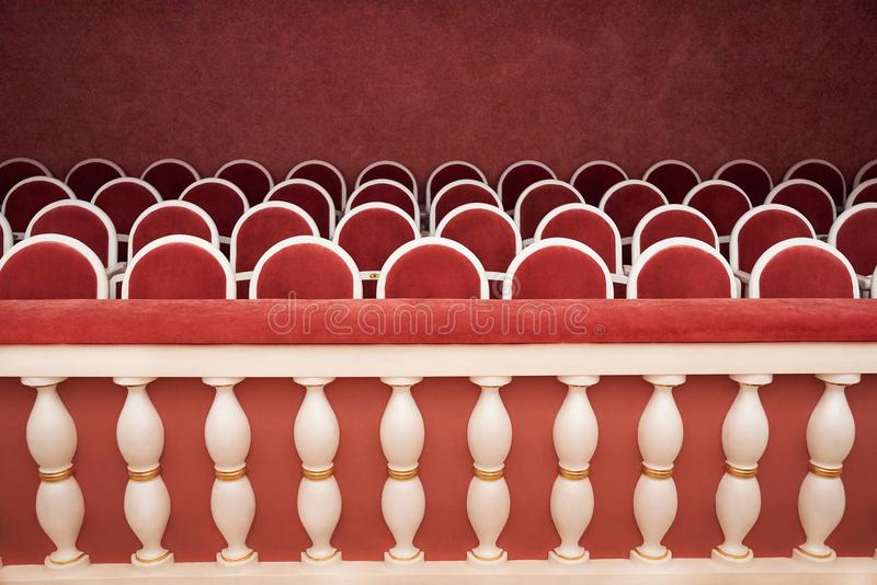 Rzędy czerwoni starzy karła zdjęcie royalty free