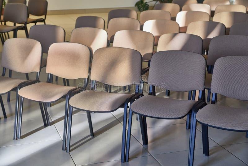 Rzędy krzesła zdjęcia stock