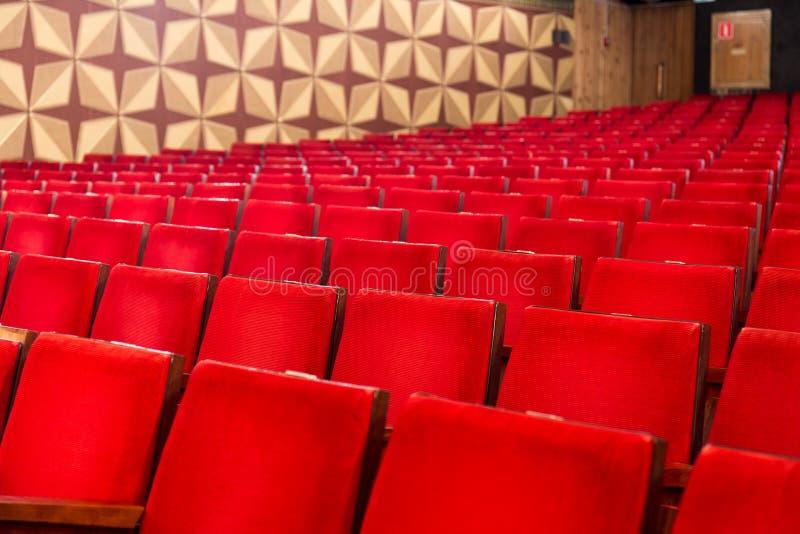 Rzędy krzesła zdjęcia royalty free