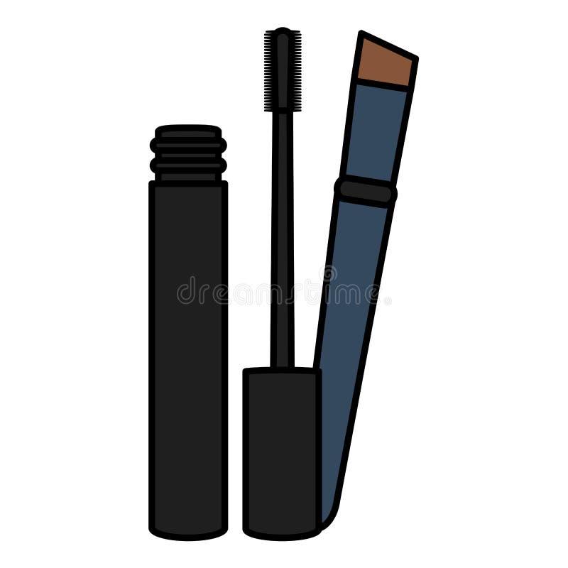 Rzęsa i muśnięcie uzupełniamy rysunkową ikonę ilustracji