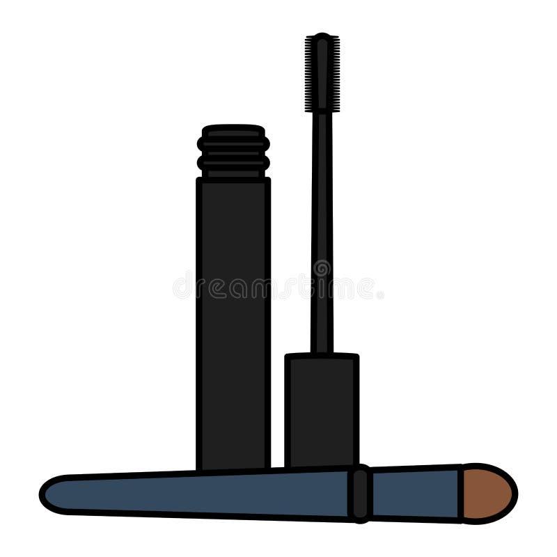 Rzęsa uzupełnia rysunkową ikonę ilustracji