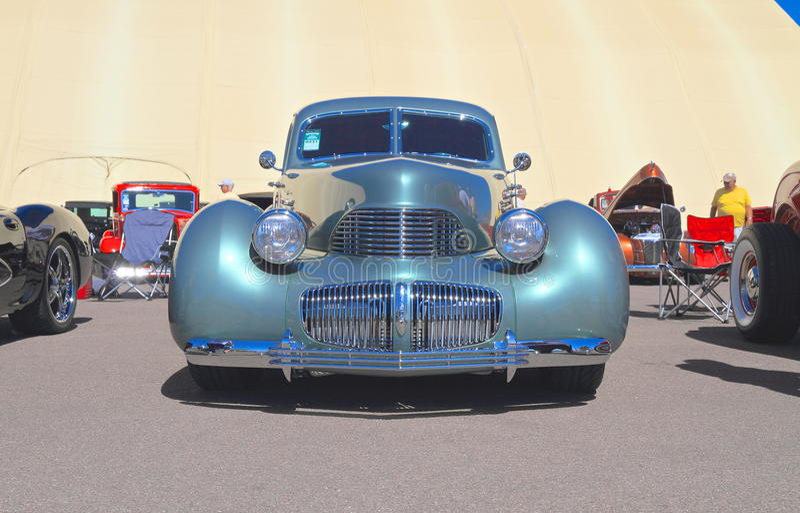 Rzadki Antykwarski samochód: 1941 Grahamowych Hollywood Supercharg obrazy royalty free