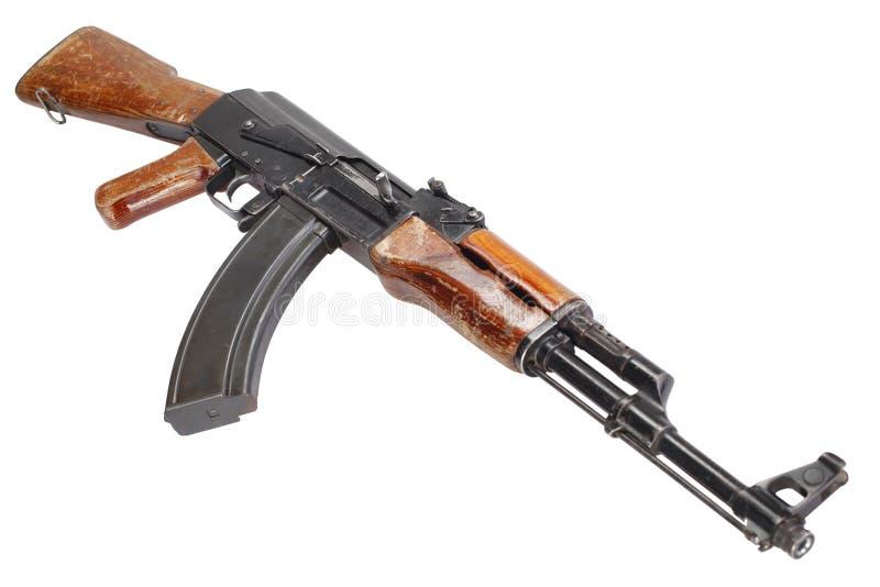 Rzadki pierwszy wzorcowy AK - 47 karabin szturmowy obrazy royalty free