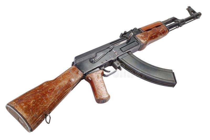 Rzadki pierwszy wzorcowy AK - 47 karabin szturmowy fotografia royalty free