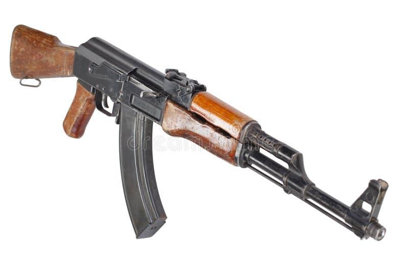 Rzadki pierwszy wzorcowy AK - 47 karabin szturmowy obraz stock