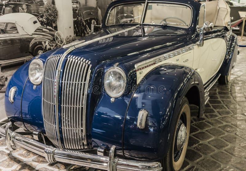 Rzadki samochodu model Opel Admiral obrazy royalty free