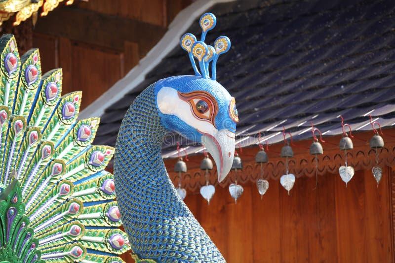 Rzeźba, architektura i symbole buddyzm, Tajlandia zdjęcie royalty free