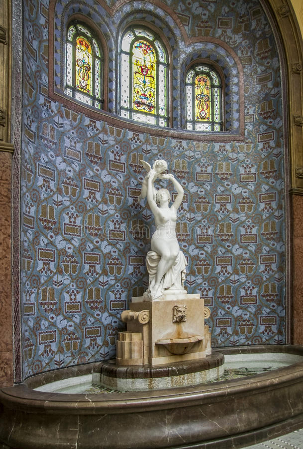 Rzeźba i well obrazy royalty free