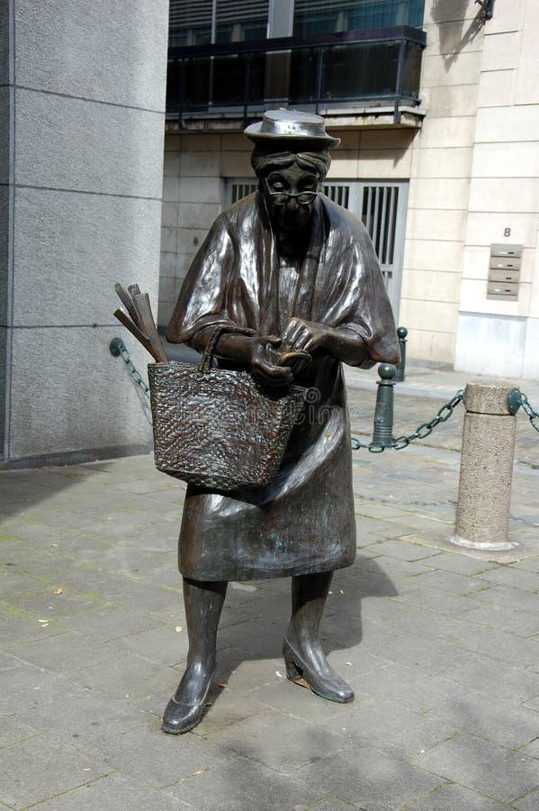 Rzeźba Madame Chapeau obrazy stock
