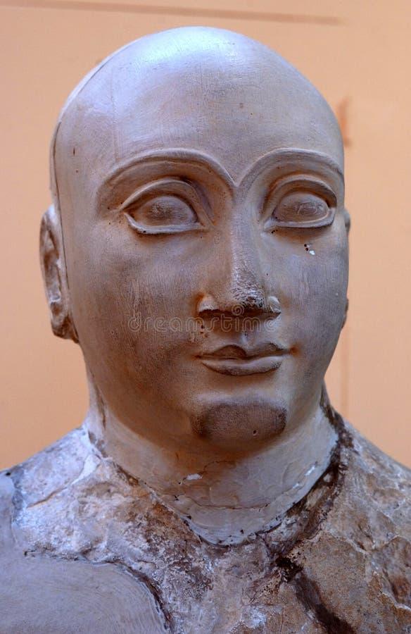 Rzeźba Mezopotamski gubernator zdjęcie royalty free