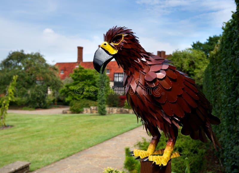 Rzeźba orzeł przy Wisley, Surrey obrazy royalty free