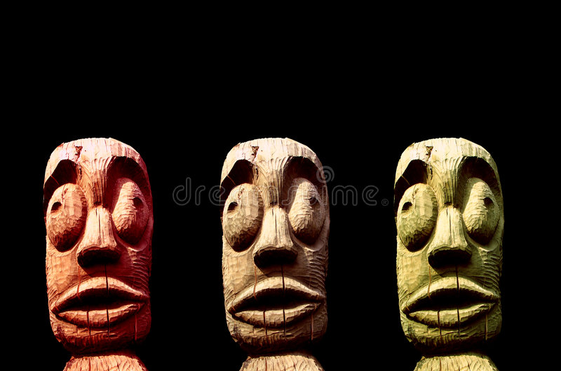 rzeźba plemienna zdjęcie stock
