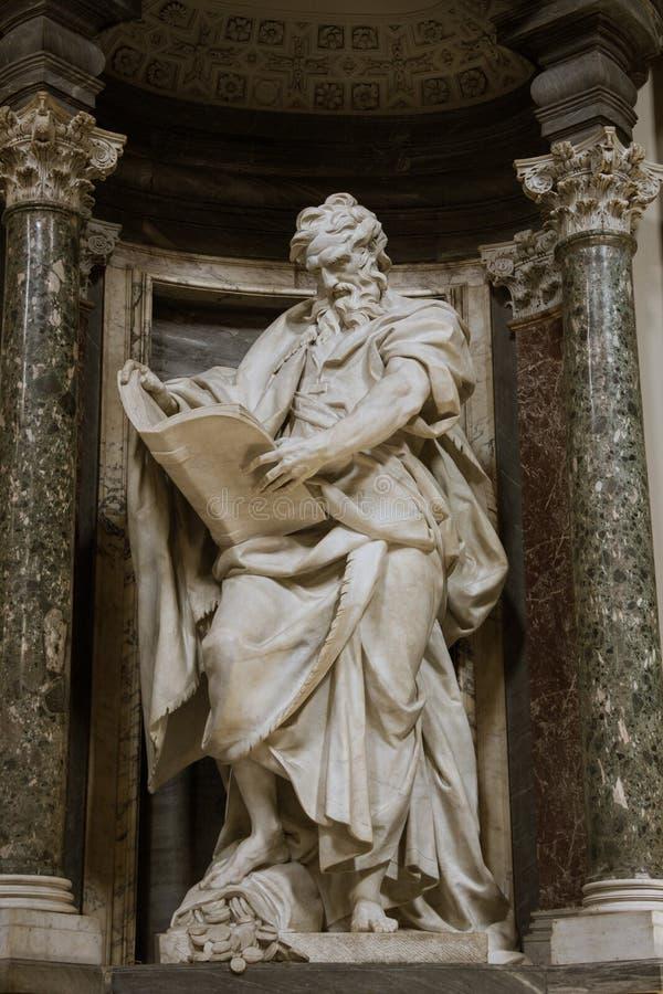 Rzeźba St Matthew obraz stock