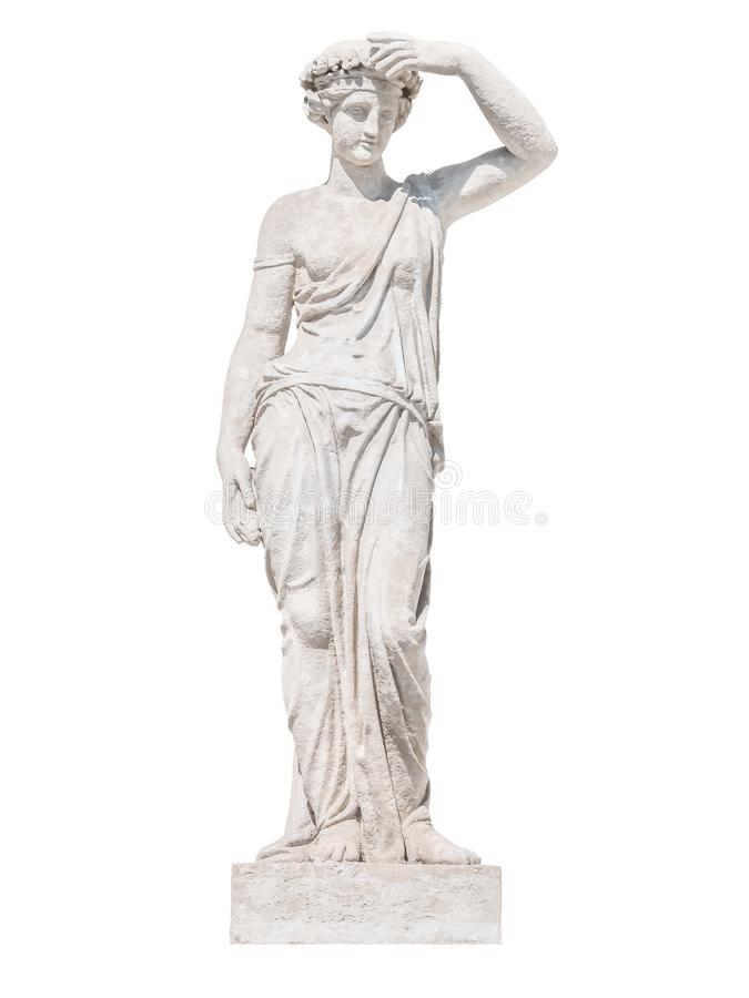 Rzeźba starożytnego grka bóg Ceres fotografia royalty free