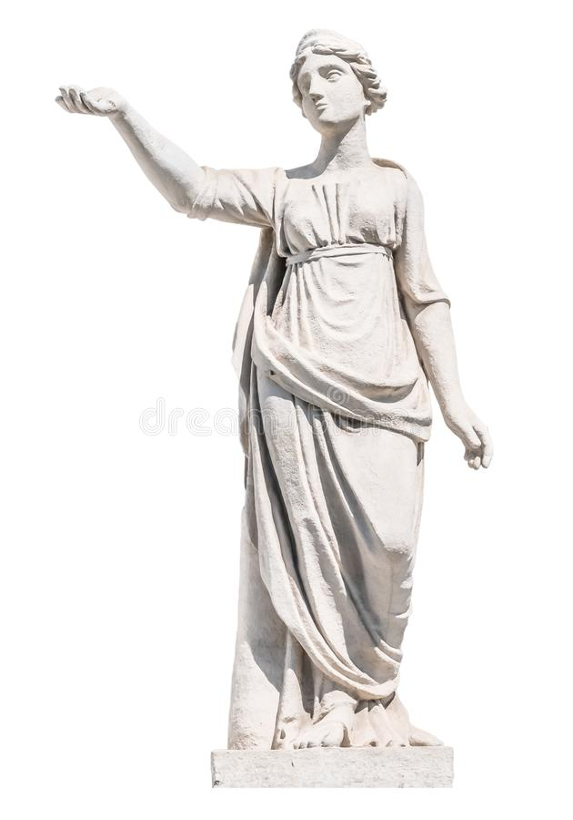 Rzeźba starożytnego grka bóg Latona obrazy stock