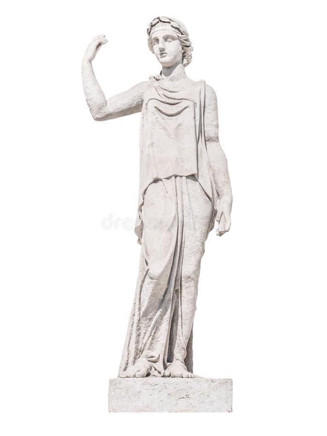 Rzeźba starożytnego grka boga duszy zdjęcie stock