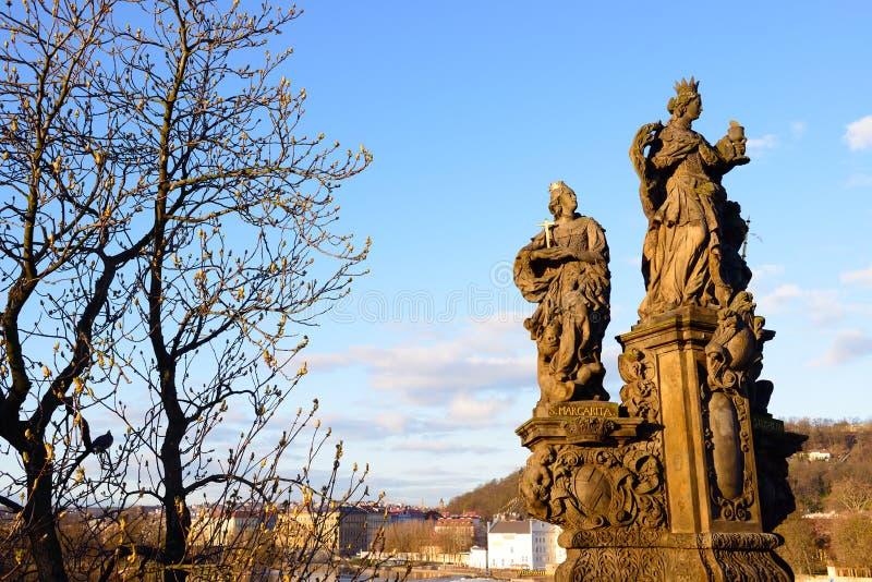 Rzeźba StMargarita Elisabeth i St obraz royalty free