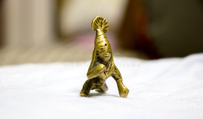 Rzeźba władyki dziecko Krishna zdjęcie royalty free