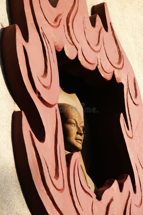 Rzeźba w świątyni w Vietnam obraz royalty free