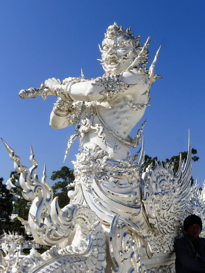 Rzeźba w Chiang Raja obraz royalty free