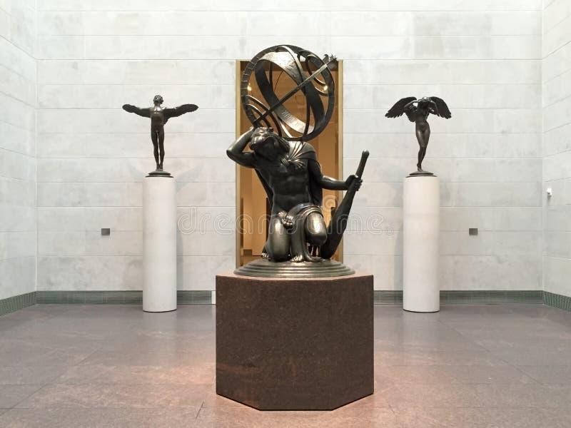 Rzeźba w muzeum sztuki piękna Houston fotografia royalty free