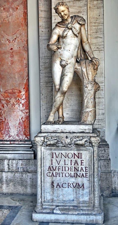 Rzeźba w Watykan, Włochy obrazy royalty free