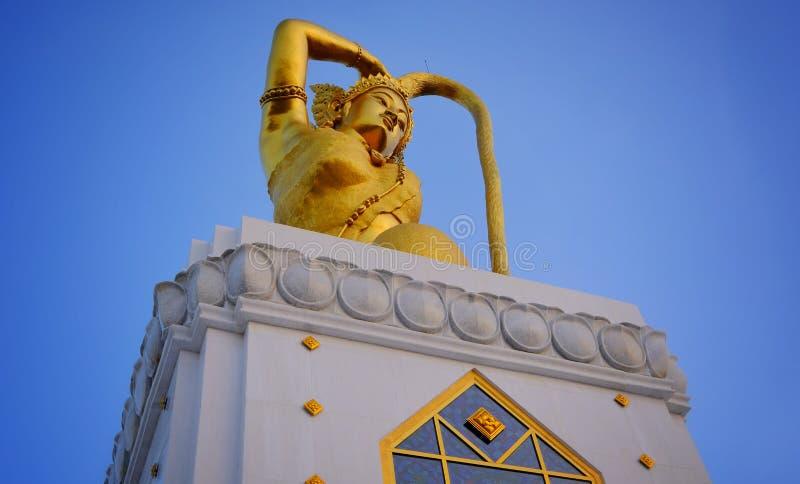 Rzeźbi bogini ziemia zdjęcia royalty free