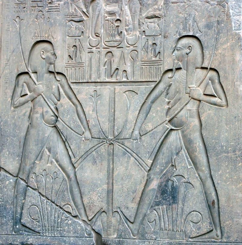 rzeźby Luxor kamienia świątyni zdjęcia royalty free