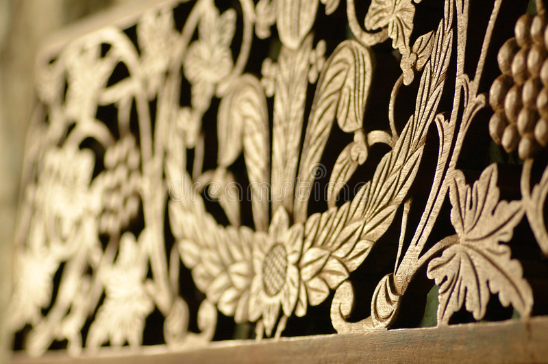 rzeźby z drewna obrazy stock