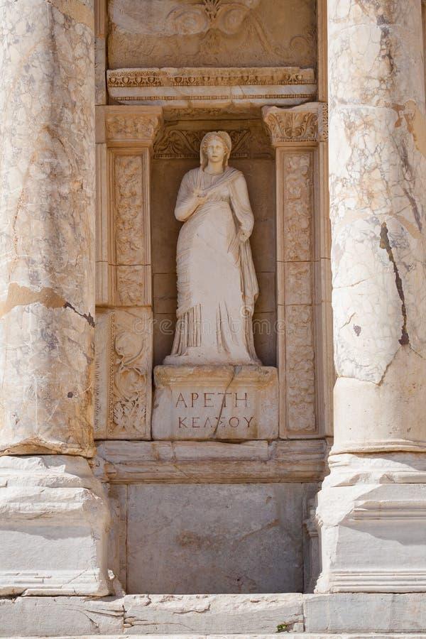 Download Rzeźba w Ephesus indyk zdjęcie stock. Obraz złożonej z kultura - 53784038