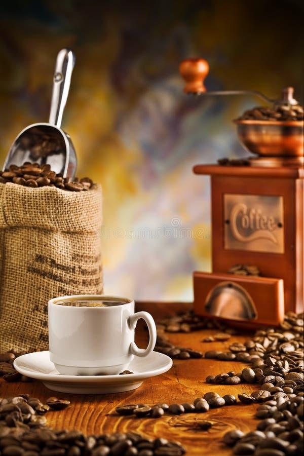 rzecz kawowy stół obrazy royalty free