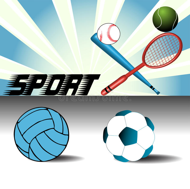 rzecz sport royalty ilustracja