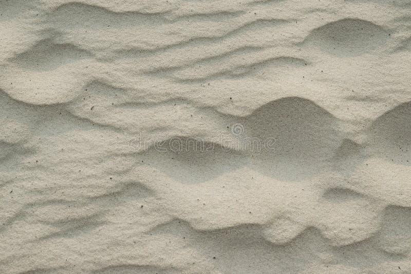 Rzeczni budynku piaska wzory od wiatru, naturalny tło obrazy stock