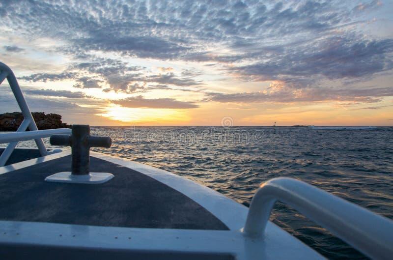 Rzeczny rejs oceanem indyjskim Rivermouth zdjęcia royalty free