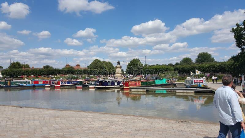 Rzeczny Stratford na Avon Szekspir zdjęcie royalty free