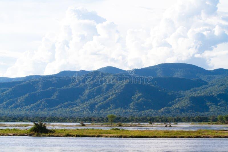 rzeczny Zambezi zdjęcia royalty free