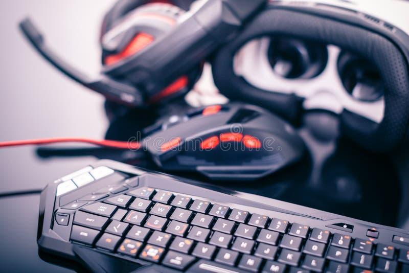 Rzeczywistość wirtualna hazard zdjęcie royalty free