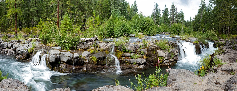 rzeka łotrzyk zdjęcie royalty free