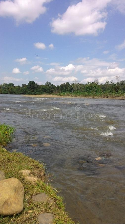 Rzeka obraz stock