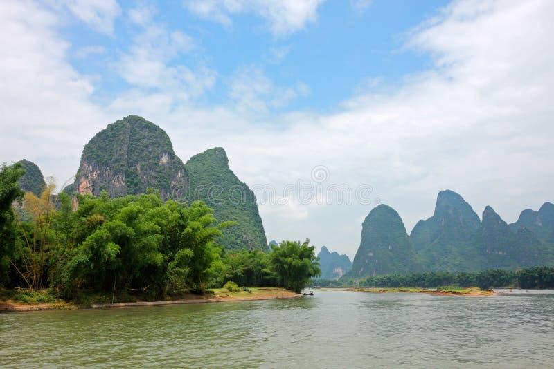 Rzeka - Chiny obrazy royalty free