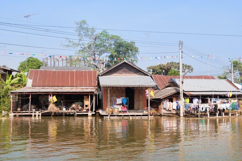 Rzeka dom obrazy stock
