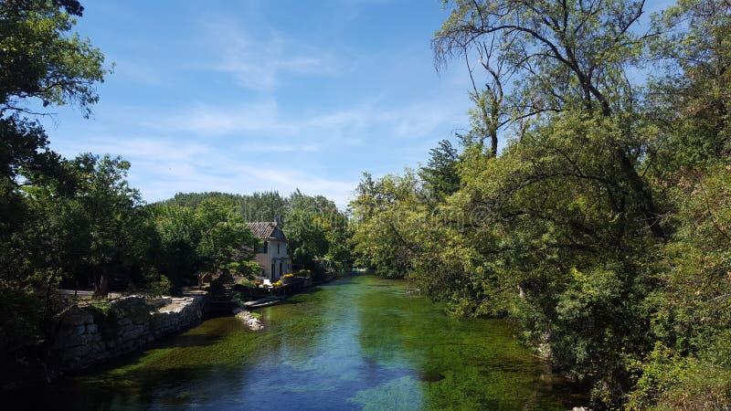 Rzeka Francja zdjęcia royalty free
