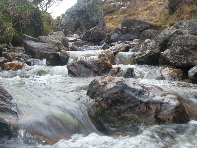 Rzeka i skały zdjęcia royalty free