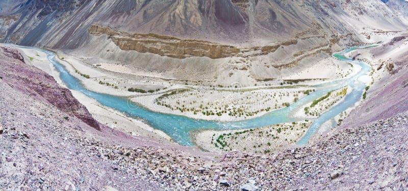 rzeka indus obraz stock