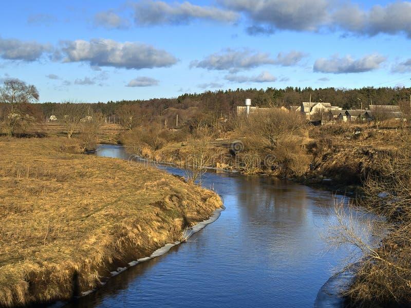 Rzeka irpen zdjęcie royalty free