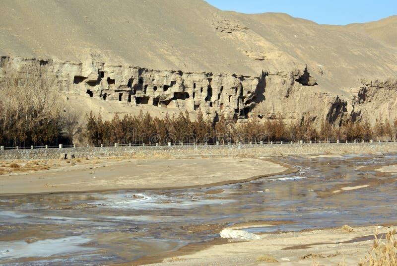 rzeka jaskiniowa obrazy royalty free