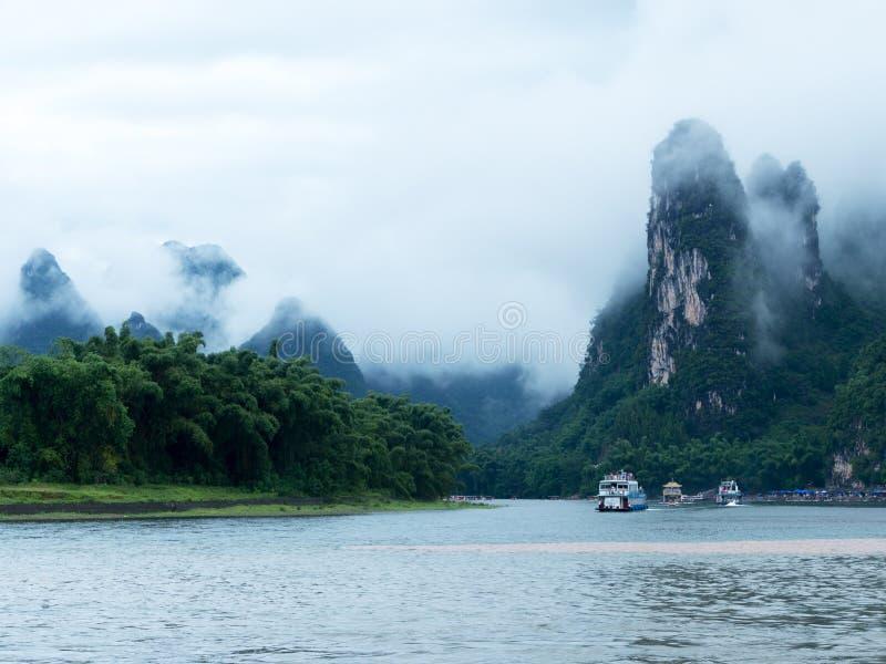 Rzeka krajobraz zdjęcie royalty free