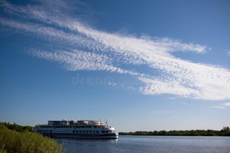 rzeka krajobrazowa fotografia stock