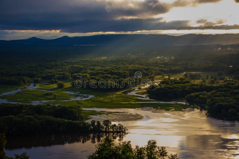 rzeka mississippi obraz royalty free
