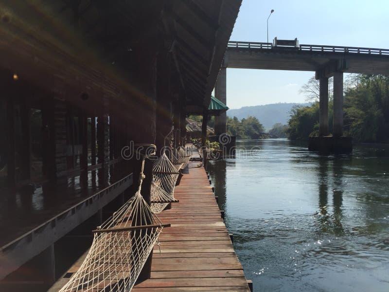 Rzeka odpoczynek zdjęcia stock